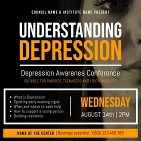 Depression Awareness Conference Square Video
