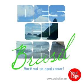 Descubra o Brasil video para instagram