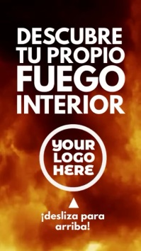 Descubre Tu Fuego Video Story Digital Display (9:16) template