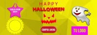 DESCUENTO HALLOWEEN Facebook-coverfoto template