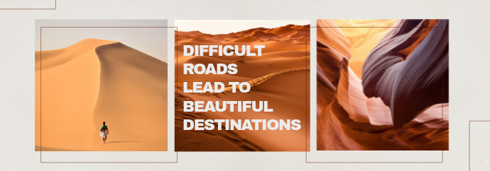 Desert Roads Quote Tumblr Banner