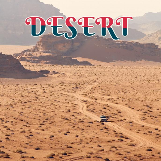 DESERT TOUR COVER 专辑封面 template