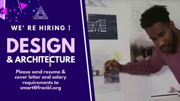 Design & Architecture Jobs Video Template