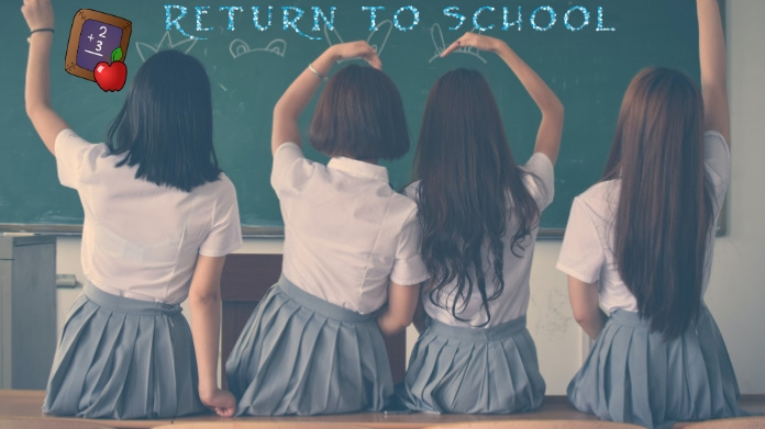 back to school Iphosti le-Twitter template