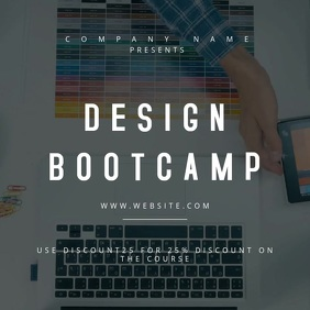 Design Bootcamp Motion Poster