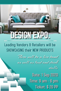 Design Expo Poster 海报 template