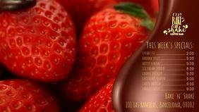 Dessert Facebook Cover Video