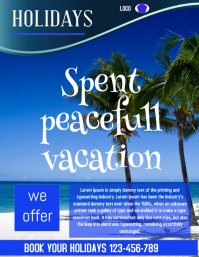 destination holidays flyer,small business flyer,poster