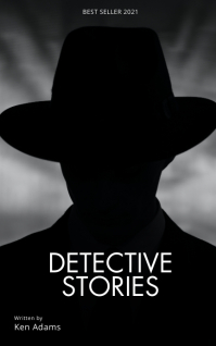 Detective Investigation Book Cover Template