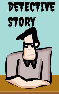 Detective story Kindle Omslag template
