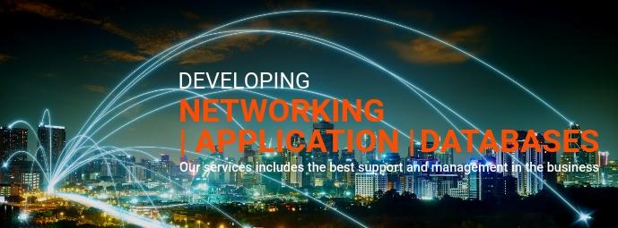 Developer Agency Flyer Facebook Omslag Foto template