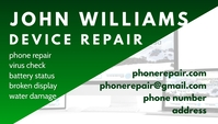 Device Repair business card template