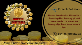 Dhanteras YouTube Duimnael template