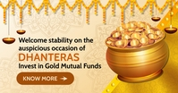 Dhanteras Investment Post Template Gedeelde afbeelding op Facebook