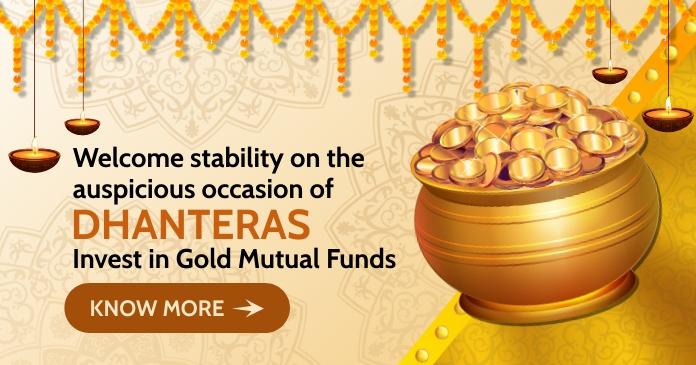 Dhanteras Investment Post Template Image partagée Facebook