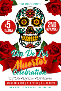 Dia Das Muertos Poster