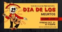 Dia de los muertos, festival,event รูปภาพที่แบ่งปันบน Facebook template