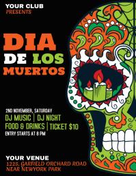 dia de los muertos,Carnival, Masquerade Party