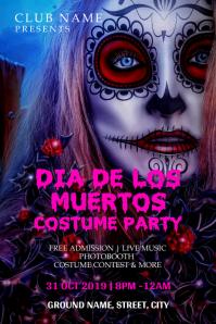 Dia de los muertos costume party