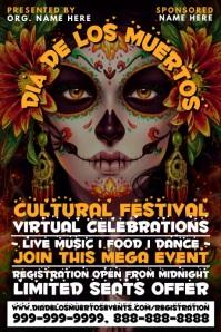Dia De Los Muertos Cultural Event Template