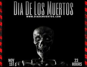 Dia De Los Muertos Template