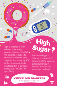 Diabetes Awareness Poster Template