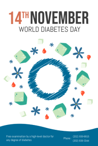 Diabetes Day Poster Template