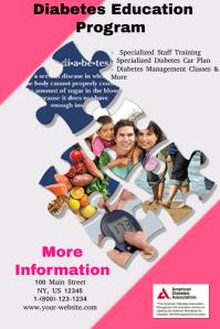 customizable design templates for diabetes postermywall