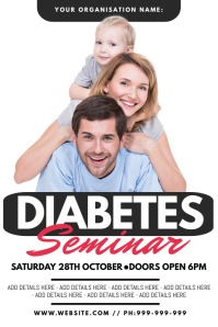 Diabetes Seminar Poster