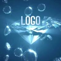 DIAMOND LOGO DESIGN TEMPLATE Logotyp