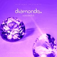 Diamond Mixtape Cover Music Pochette d'album template