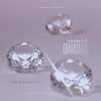 Diamond Mixtape Cover Music template