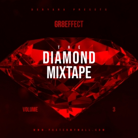 Diamond Red Mixtape CD Cover