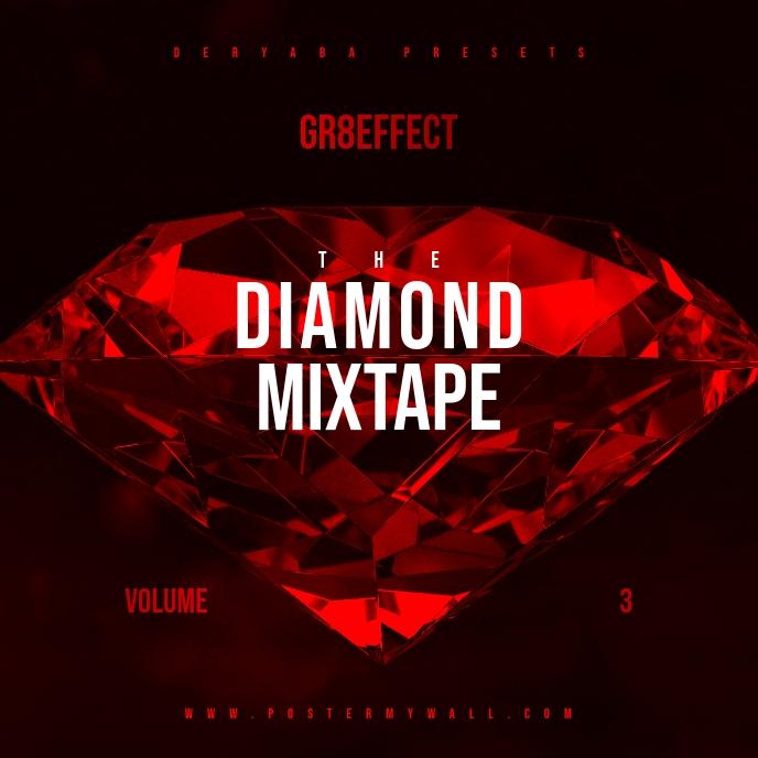 Diamond Red Mixtape CD Cover