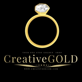 DIAMOND RING LOGO Design TEMPLATE