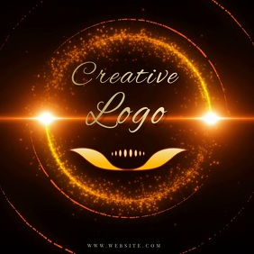DIAMOND RING LOGO Design TEMPLATE Instagram Post