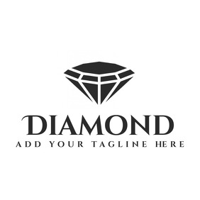 diamond ring logo elegant jewellery logo temp template