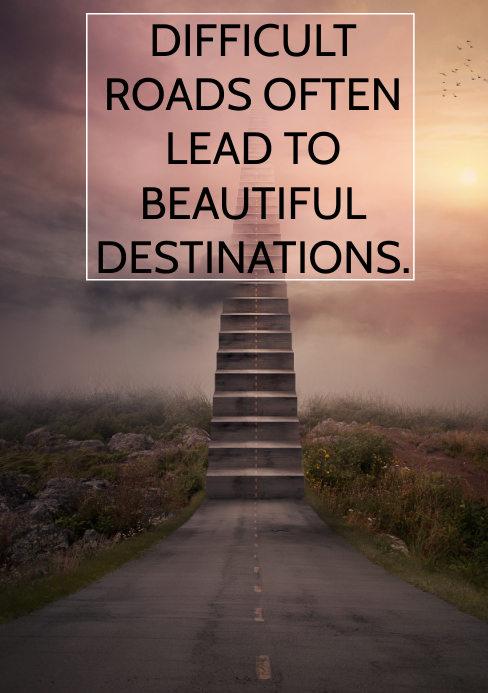 DIFFICULT AND DESTINATION QUOTE TEMPLATE A5