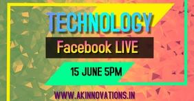 digital ad Imagen Compartida en Facebook template