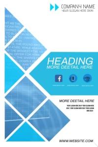 digital banner display video design template