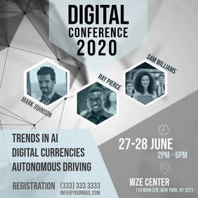 Digital Conference instagram video ad