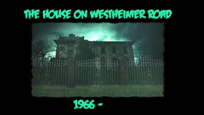 Digital Display Haunted House YouTube-miniature template