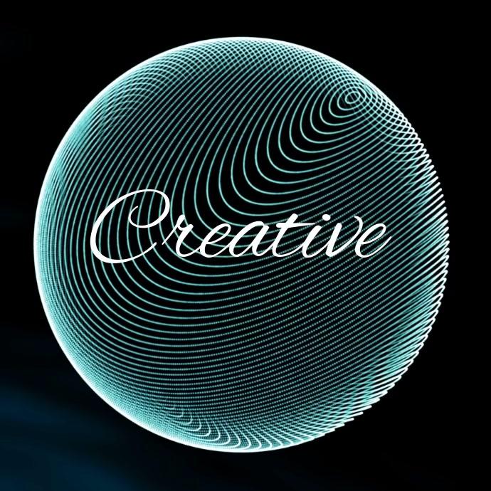 Digital logo template