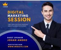 Digital Marketing Agency Ad Medium Rectangle template