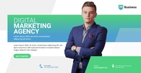 Digital Marketing Agency Ad Facebook Shared Image template