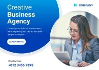 Digital Marketing Agency Ad Template Postcard