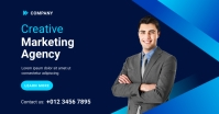 Digital Marketing Agency Ad Template Facebook 共享图片