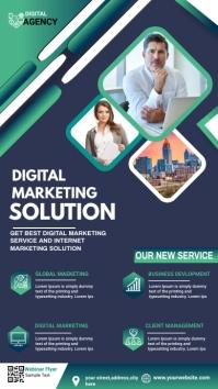 Digital Marketing Agency Advert Digitalanzeige (9:16) template