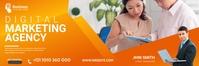 Digital Marketing Agency Banner Bannier 2' × 6' template