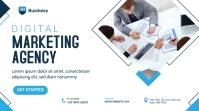 Digital Marketing Agency Banner Publicação do Twitter template